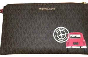 Michael Kors Michael Kors Large Leather Wristlet