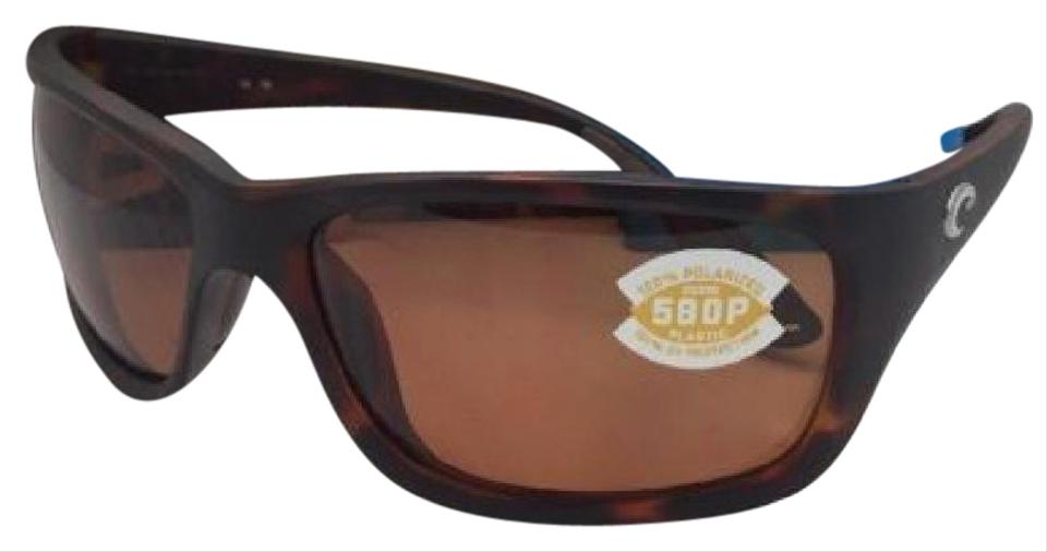 21e4b2562600 Costa Del Mar Polarized COSTA Sunglasses TASMAN SEA TAS 66 Tortoise Frame  w/ Copper Image ...