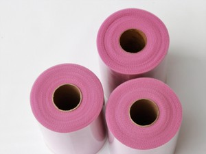 3 Tulle Rolls - 6 In X 100 Yd Ea - Rosy Mauve Tulle Rolls - Free Ship