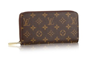 Louis Vuitton France Monogram Canvas Classic Zip Around Wallet