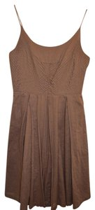 Tory Burch short dress Light Brown on Tradesy