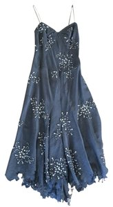 Other Italian Beaded Floral Flowy Dress