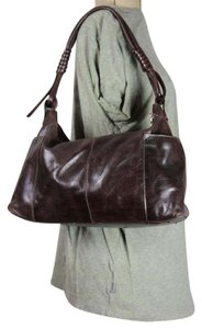 Prüne Prune Leather Satchel in Dark Brown