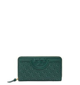 Tory Burch New Fleming Zip Continental Wallet