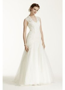 Melissa Sweet Melissa Sweet Cap Sleeve Wedding Dress