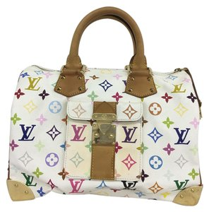 Louis Vuitton Lv Speedy 30 Monogram Tote in Multicolor