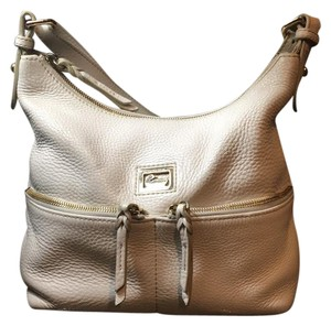 Dooney & Bourke Satchel Neutral Hobo Shoulder Bag