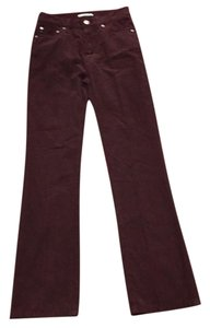 AG Adriano Goldschmied Straight Pants Sulfur Fig