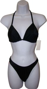 Other Zuliana - Black String Top Bikini Swimwear - One Size Fits