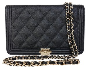 Chanel Woc Quilted Boy Reissue Mini Shoulder Bag