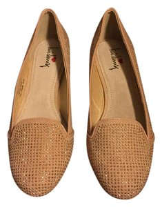 Luichiny Loafer Embellisbed Studded Nude Flats