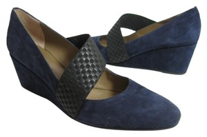 Anyi Lu midnight blue Pumps