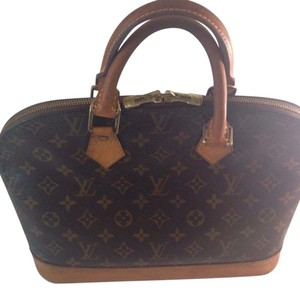 Louis Vuitton Satchel in Monogram and Vachetta