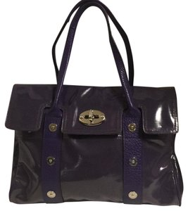 Mulberry Tote in purple
