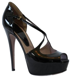 Gucci 323528 Pumps Platform Pumps Black Sandals