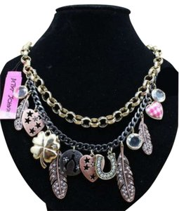 Betsey Johnson Betsey Johnson Charm Necklace