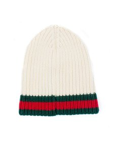 Gucci BRAND NEW Charui Wool Hat with Web
