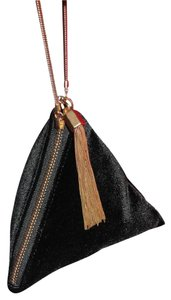 Charles & Keith Pochette Prom Evening Bags Wristlet in Black