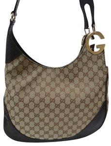Gucci Gg Monogram Cross Body Shoulder Bag