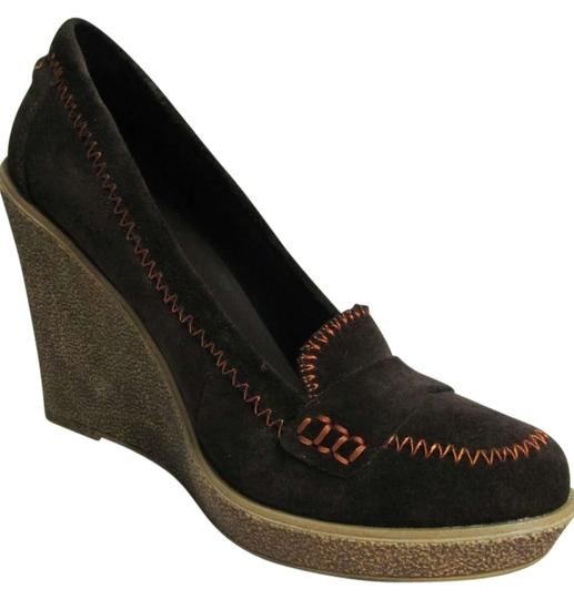 Preload https://item4.tradesy.com/images/pour-la-victoire-chocolate-neala-wedges-size-us-10-206828-0-0.jpg?width=440&height=440