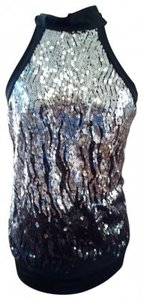 Papaya Top Papaya Sequin Halter Top (NEW)