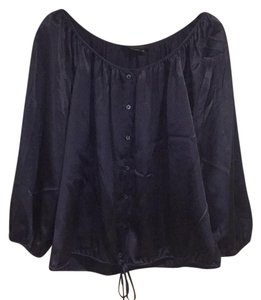 BCBGMAXAZRIA Top Midnight Blue