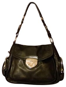 Prada Satchel Leather Shoulder Bag