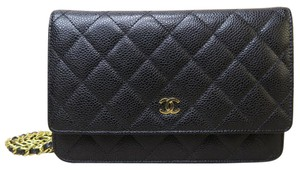 Chanel Caviar Woc Cross Body Shoulder Bag