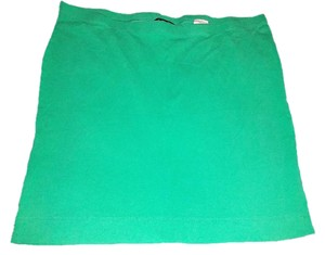 H&M Mini Large Mini Skirt Sea Foam Green