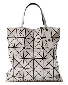 Issey Miyake Bao Bao Lucent Basic Tote in Beige