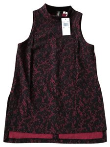 Michael Kors Top Lacey Red/Black
