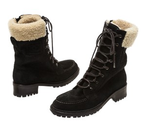 Chanel Black/Beige Boots