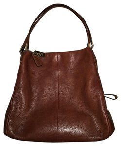 Coach Pebbled Leather Slouchy Soft Leather Classic Shoulder Bag