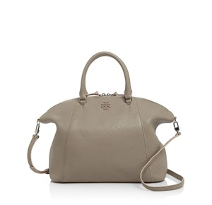 Tory Burch Berkeley Slouchy Satchel in French Gray