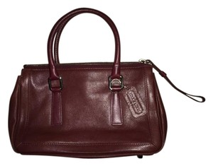 Coach Bonnie Cashin Burgundy Satchel in Red burgundy