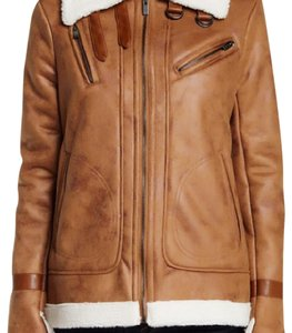 Rachel Roy Camel with Faux Shearling