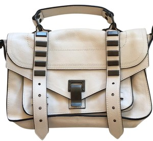 Proenza Schouler Metallic Hardware Calfskin Leather Cross Body Bag