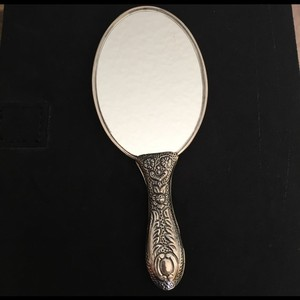 Other NEW STERLING SILVER CARVED MIRROR 60 gr TOTAL