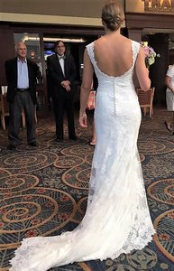 Alr 2455 (altered To Have Open Back) Wedding Dress