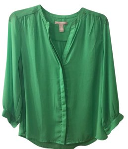 Banana Republic Top spring green