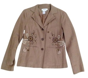 Coldwater Creek Light brown Blazer