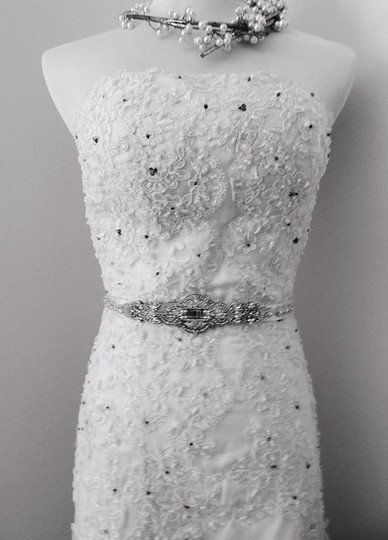 Vintage Inspired Bridal Jewelry Art Deco Wedding Dress Gown Beaded