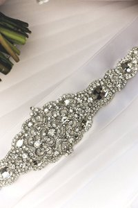 Matilda Wedding Dress Jeweled Crystal Belt Sash
