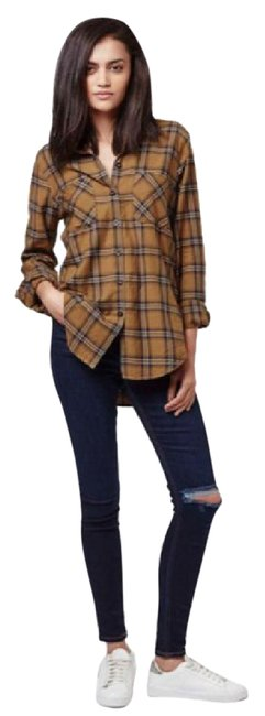 Preload https://img-static.tradesy.com/item/20684295/topshop-billie-70s-check-flannel-button-down-top-size-8-m-0-1-650-650.jpg