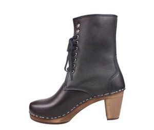swedish hasbeens Maguba Lotta From Stockholm Troentorp Hanna Andersson black brown Mules