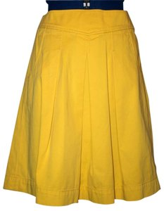 J.Crew Skirt Yellow
