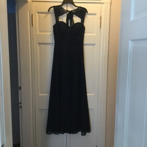 Bill Levkoff Midnight / Navy Blue Bill Levkoff Style 485 Bridesmaid Dress Dress