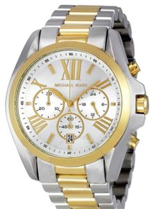 Michael Kors Bradshaw Chronograph Silver and Gold-tone Watch
