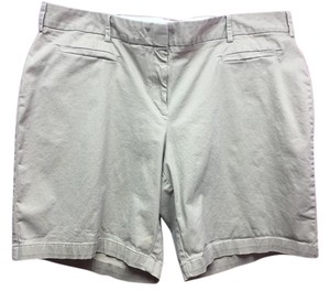 Lands' End Casual Dress Shorts Khaki