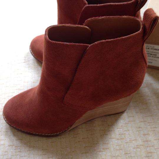 Lucky Brand Yoniana Size 6.5 Sale Chipmuck (brown) Boots